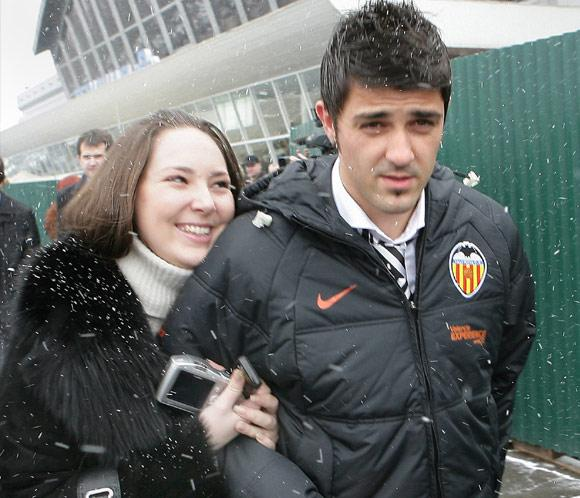 David Villa Photos, David ...